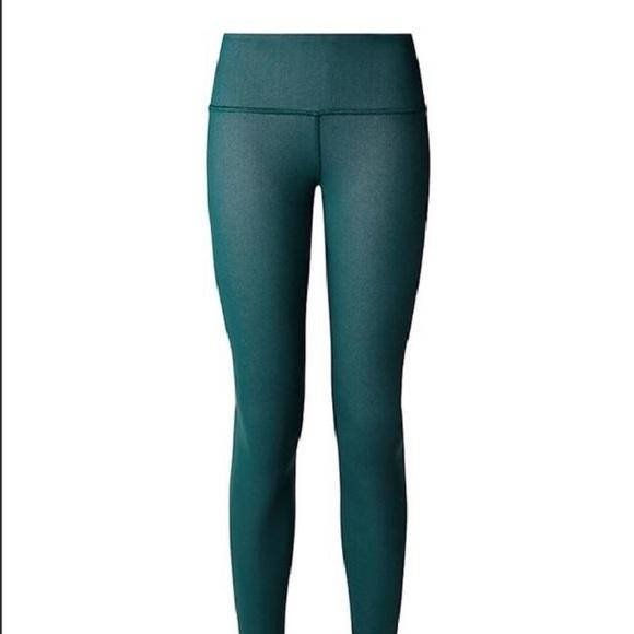 19f59cd175681a lululemon athletica Pants | Lululemon Wunder Under Mid Rise Leggings ...